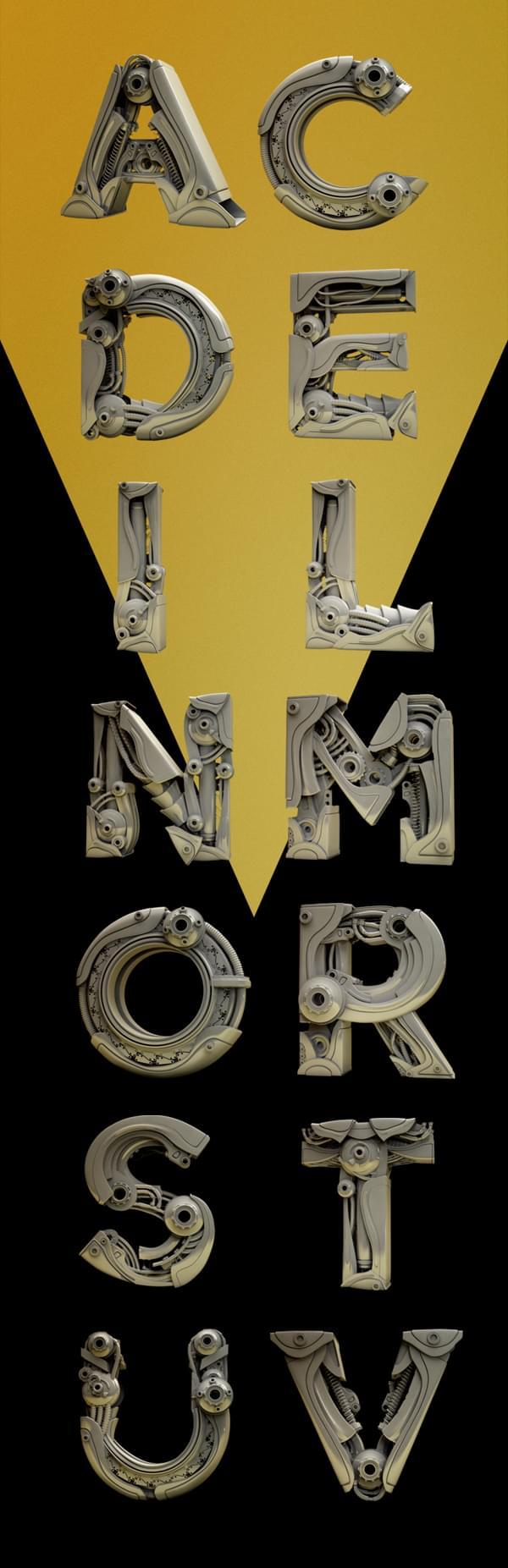 Typography – Mistérios Font