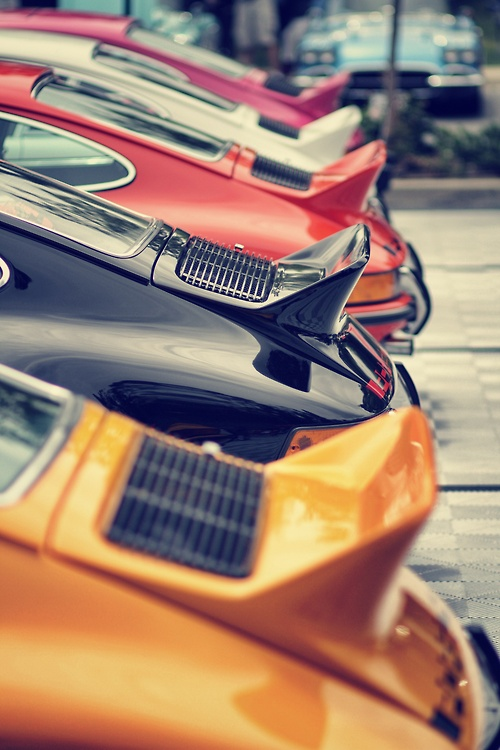 Porsche: The line up…