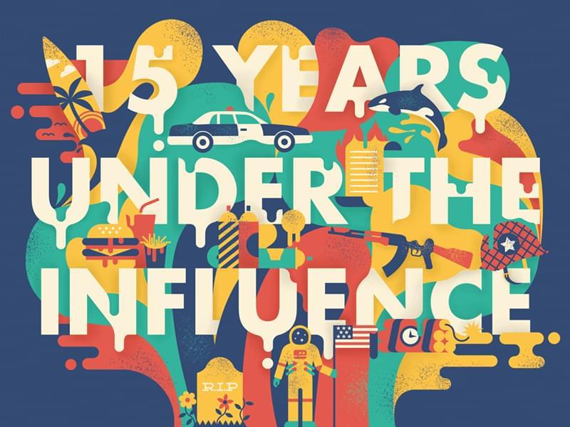 Newport beach festival poster design