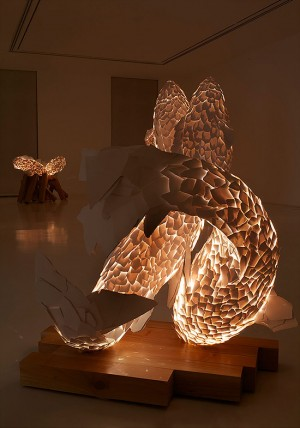 Fish Lamp Sculpture