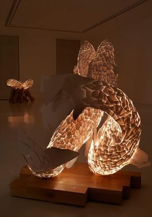 Fish Lamp Sculpture