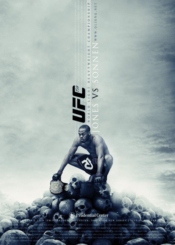 Jon Jones – Poster