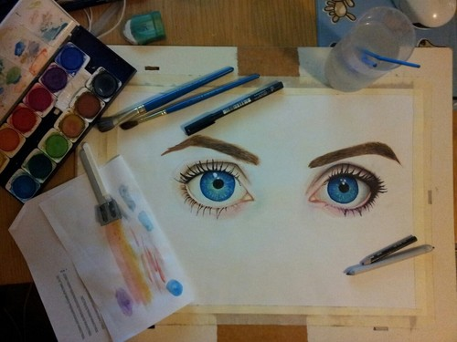 Eye Painting | Drawing