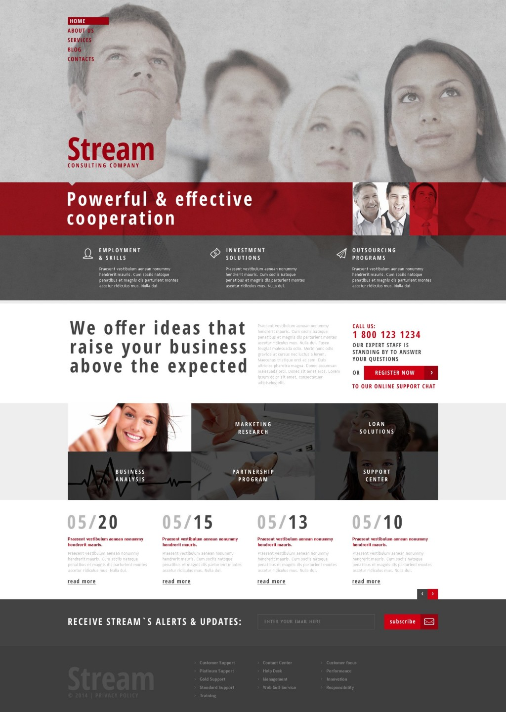 'Stream Business' WordPress 3.x Theme 48246