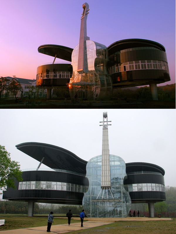 Piano House in China