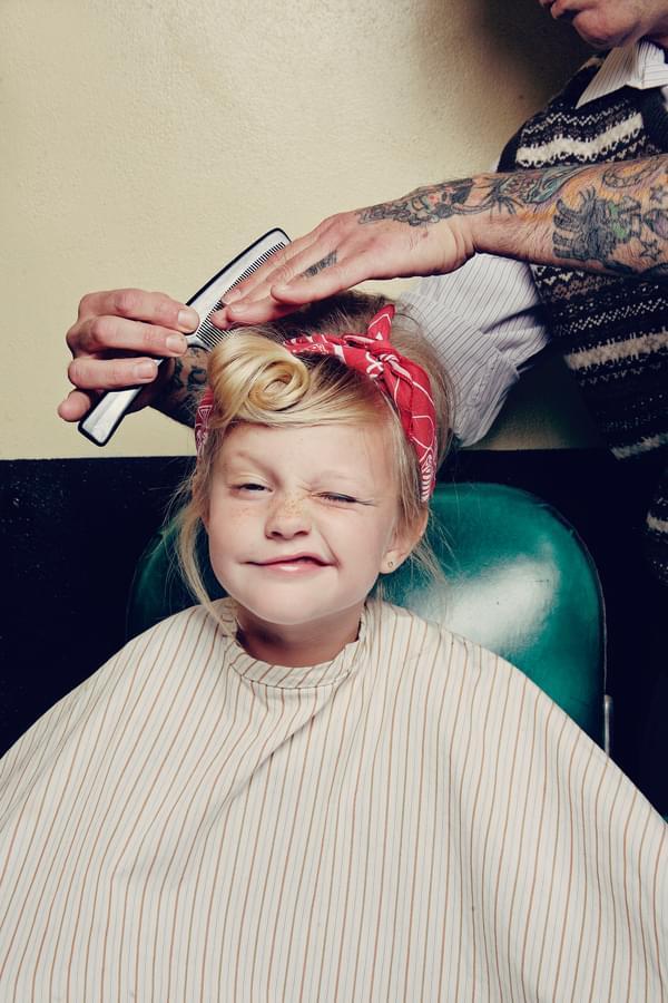 little pin up girl