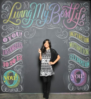 Typographic Chalk Art by Dana Tanamachi
