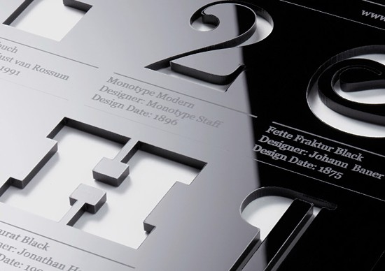 The Type Tablet by Hofstede | Inspiration Grid | Design Inspiration