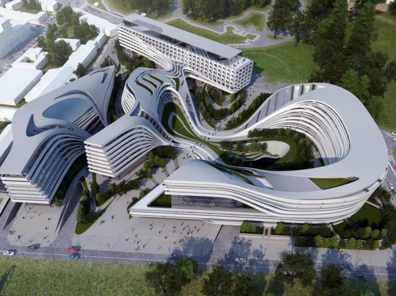 Architecture Of Zaha Hadid