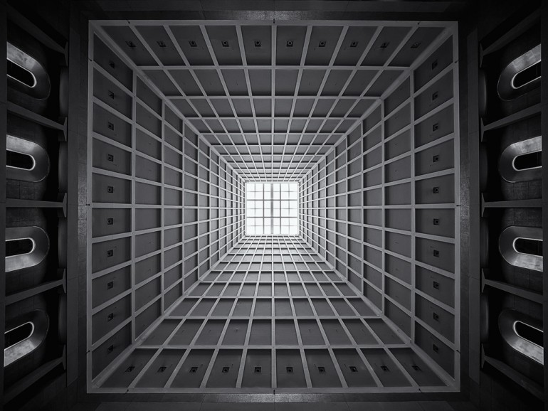 The Most Hypnotic Ceiling in Shanghai