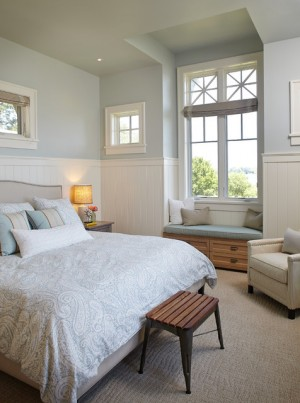 White Lake Bedroom | Interior Design