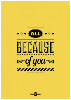 All Because of You | Flickr – Photo Sharing!