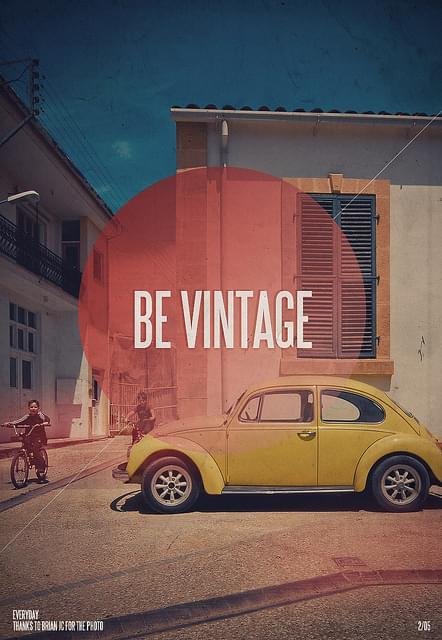 Be Vintage | Flickr