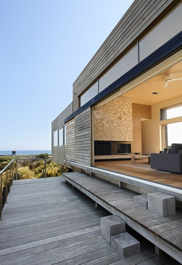 Beach House with Open Entries