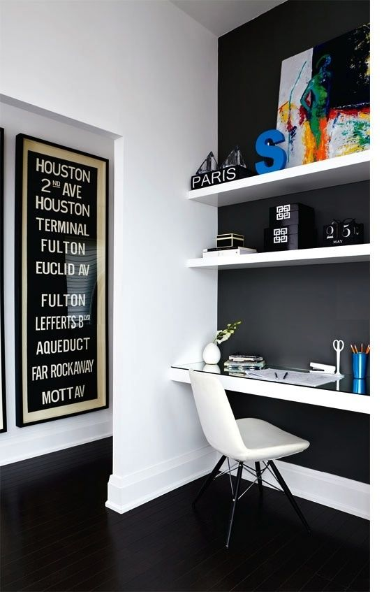 INSPIRATION TO WORK IN PEACE: HOME OFFICE DECOR