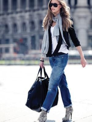 Boyfriend jeans | StyleCaster