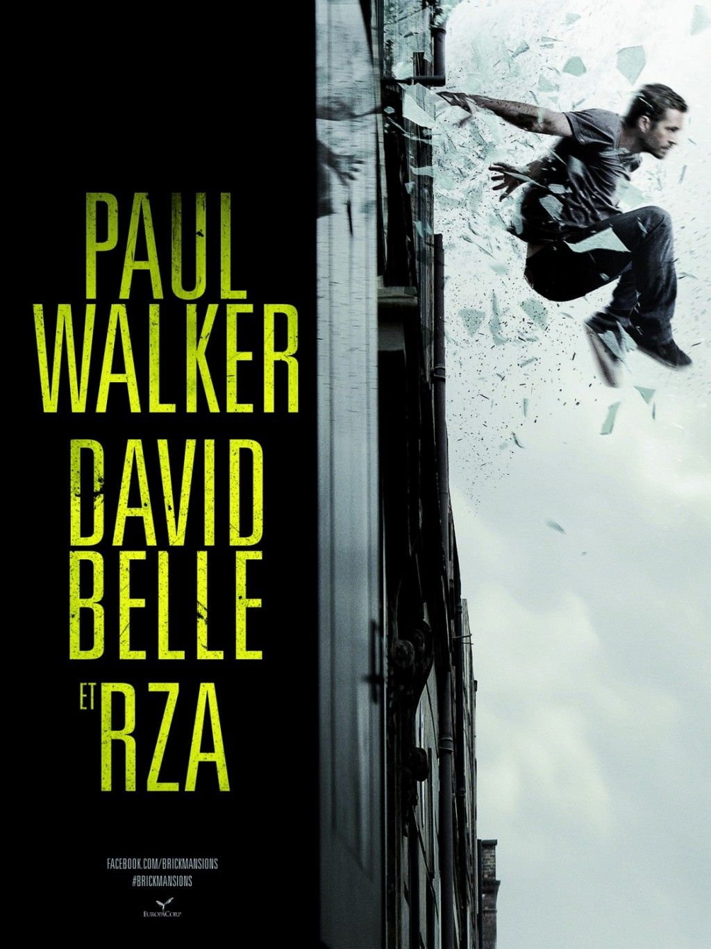Brick Mansions – New Trailer, 2 New Posters