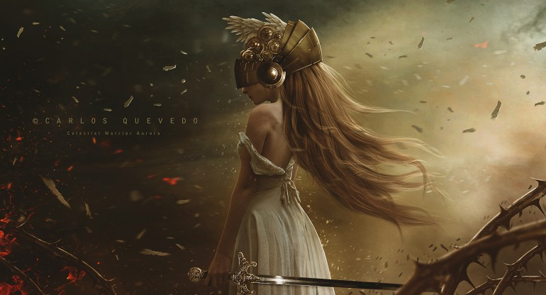 Celestial Warrior Aurora by Carlos-Quevedo on deviantART