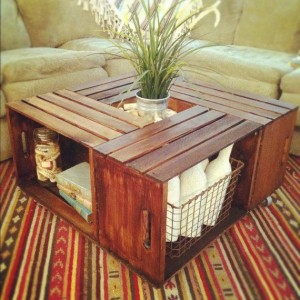 Rustic Crate Table by TheArticle