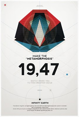 Flyer Goodness: Geometric Poster Art by Metric72