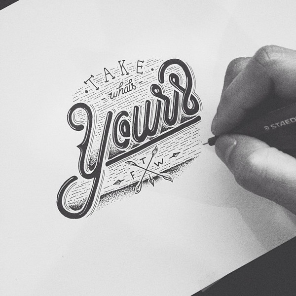 Hand Type Vol. 17 on Behance