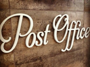 Post office by Corey Pontz