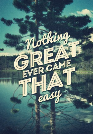 Greatness – Limited Edition Stretched Canvas Quote
