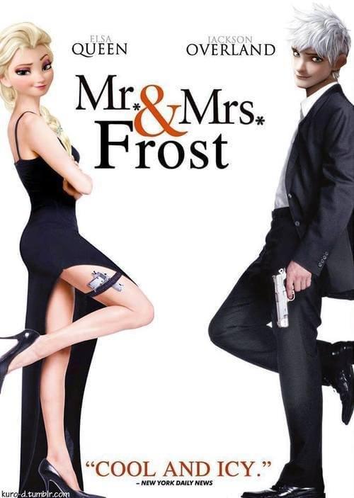 Mr. & Mrs. Frost.