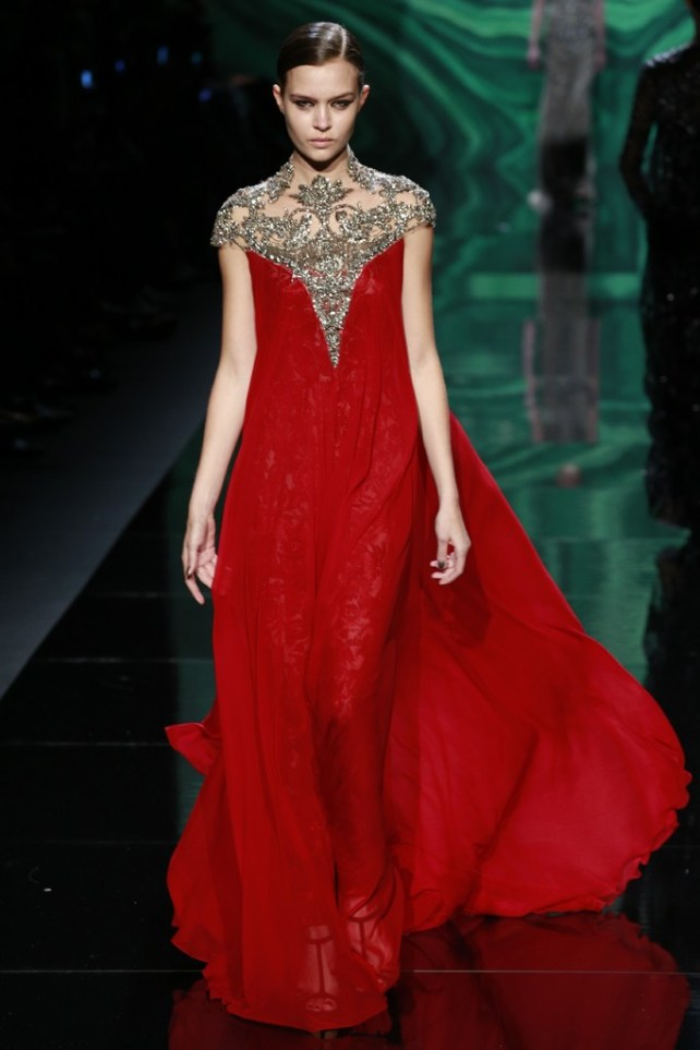 New York FW Monique Lhuillier Fall 2013 – Fashion Diva Design