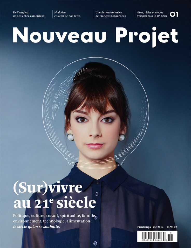 Nouveau Projet – (On) live in the 21st century Magazine Covers