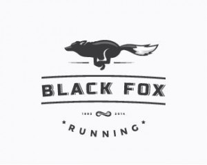 Black fox Logo Design
