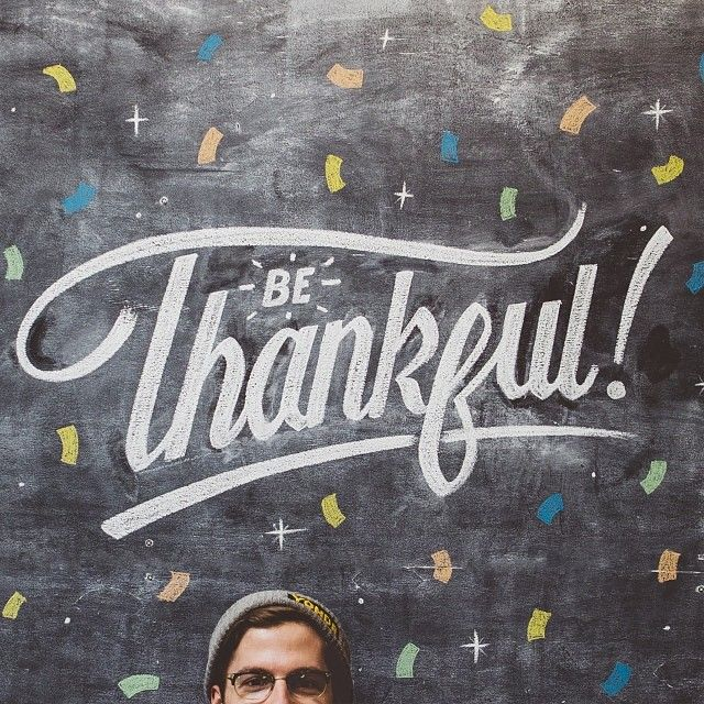 Thanks to Senior Artist Nathan Yoder, we're reminded to be thankful :)