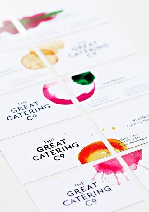 Strategy Design and Advertising. / The Great Catering Company