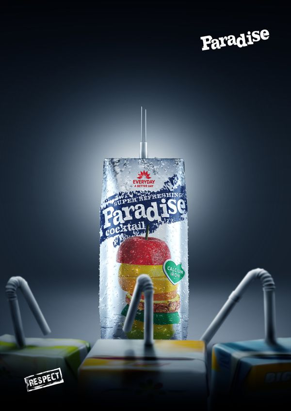 Paradise | RESPECT by Mohammad Essam, via Behance