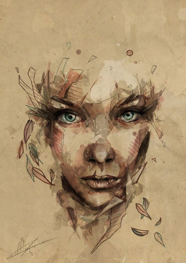 Portrait Illustrations by Mario Alba