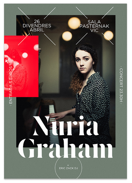 Poster Nuria Graham Gig | Flickr – Photo Sharing!