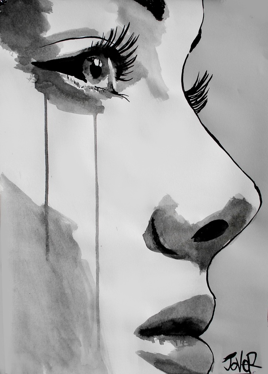 "Saatchi Art Artist: Loui Jover; Pen and Ink 2012 Drawing ""awakening"""