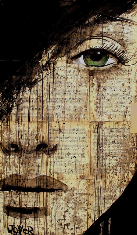 "Saatchi Art Artist: Loui Jover; Pen and Ink  Drawing ""polonaise"""