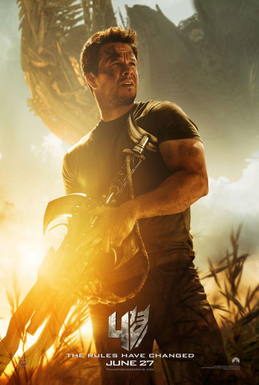 Transformers: Age Of Extinction – First Poster Shows Mark Wahlberg