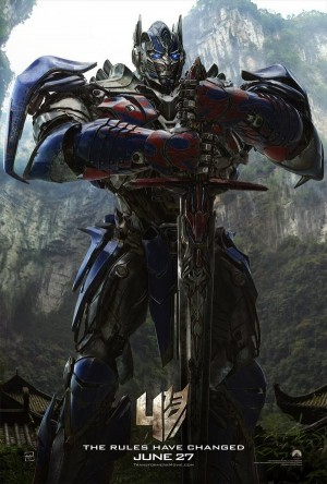 Transformers 4 Age of Extinction Optimus Prime New Movie Poster Released