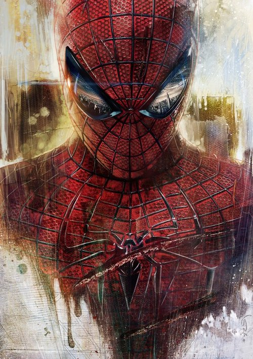 The amazing spider man by lshgsk