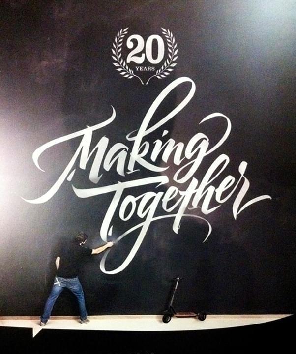 Making Together | Hand Lettering