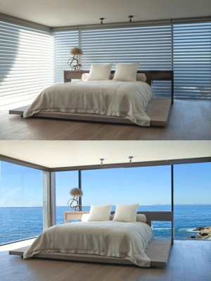 Luxury Rock-ledge beach home by Horst Architects & Aria Design