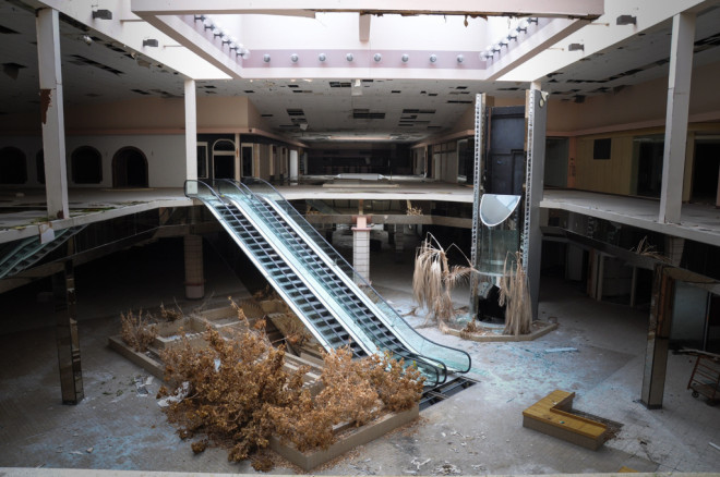 Abandoned Shopping Malls by Seph Lawless