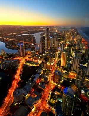 Surfers Paradise (Australia) by dazstudios