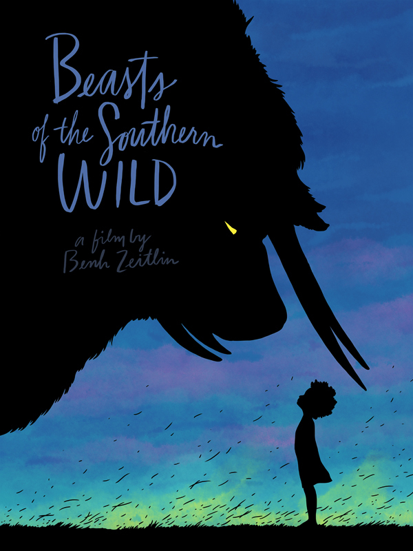 Beasts of the Southern Wild Poster for Aperture Cinema