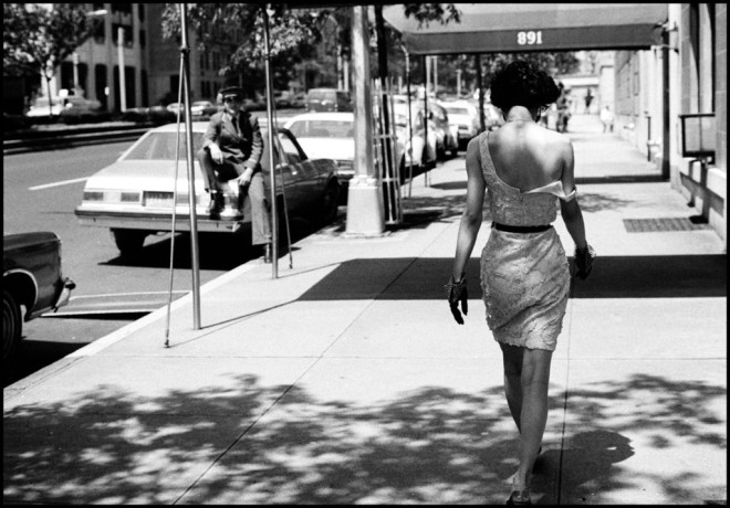 Black and White Fashion Photography by Arthur Elgort