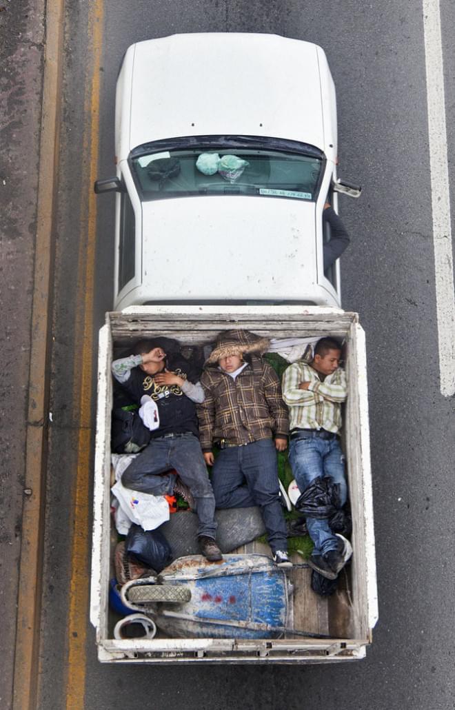 Car Poolers by Alejandro Cartagena