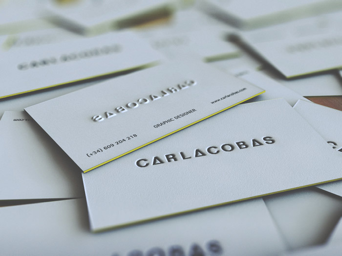 Carla Cobas – Self Promotion Business card