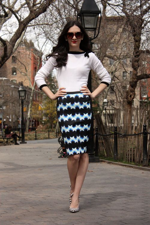 Chic of the Week: Deniz's Law School Style
